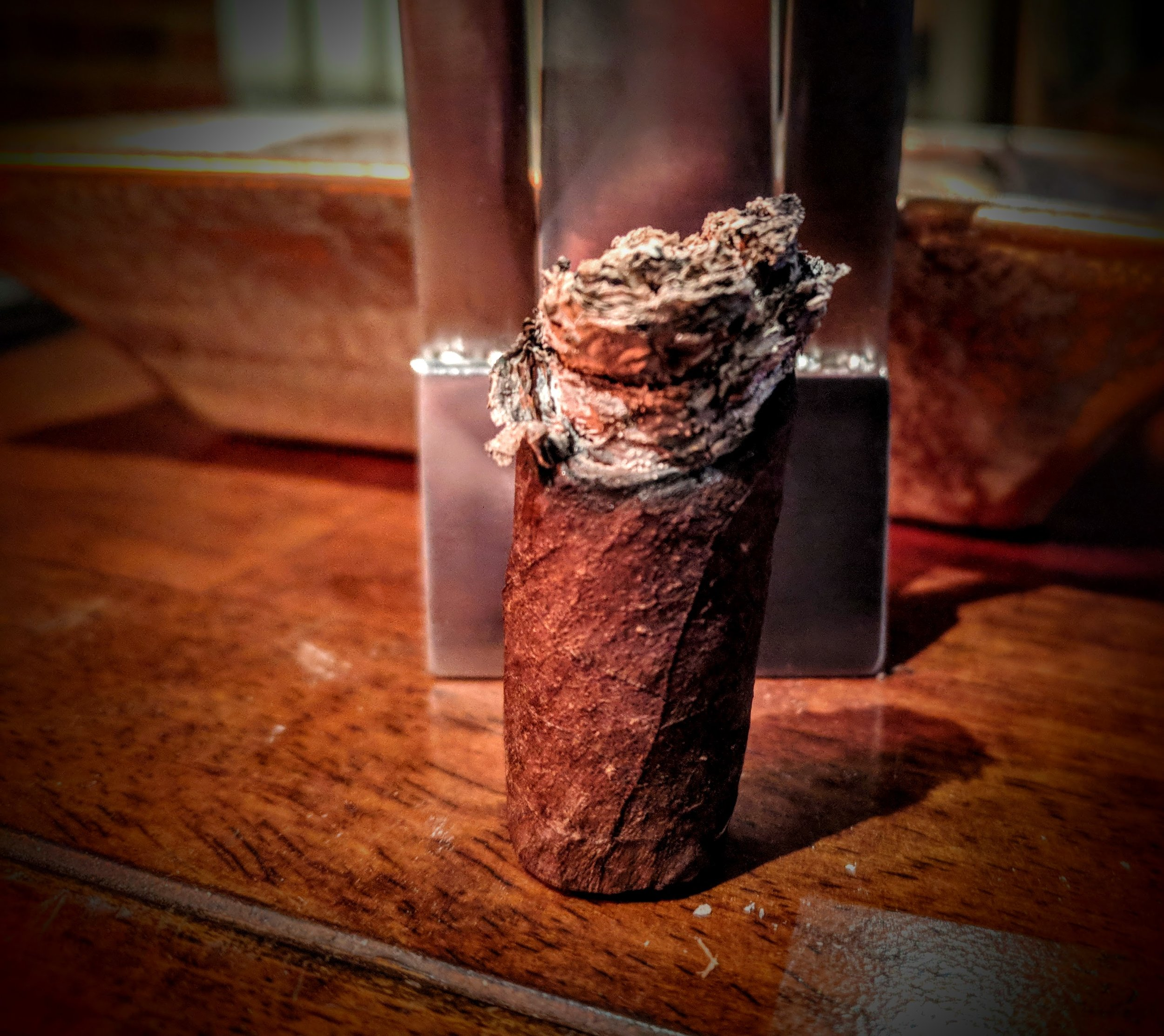 SKIP THE SECONDS ;  GO FOR THE FIRSTS.  - Rating:  5.0 / 10.0Let's get one thing out of the way - this cigar is only acceptable in that it'll run you just north of a dollar.  It's UGLY, NOT VERY FLAVORFUL AND best suited to enjoy while doing a little yardwork.  If you're looking for a cigar to sit down and relax with, I'd reach for something ELSE from Oliva's PHENOMENAL PORTFOLIO.  Of course the trade off is that those sticks will run you SEVERAL times more.  Not a terrible cigar, but not one I'd smoke again any time soon.
