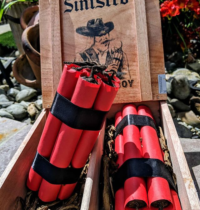 One for the collection! 🤠🧨🧨🧨 @sinistrocigars The Last Cowboy Limited edition 2018