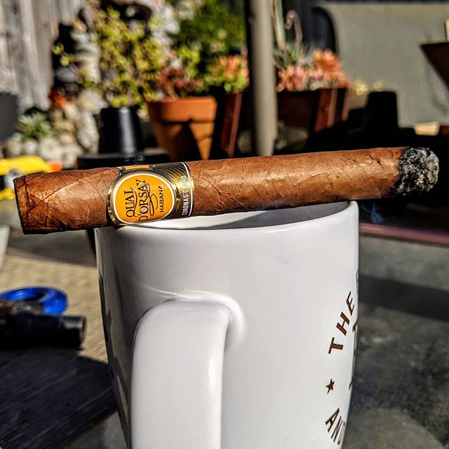 Excellent morning smoke!