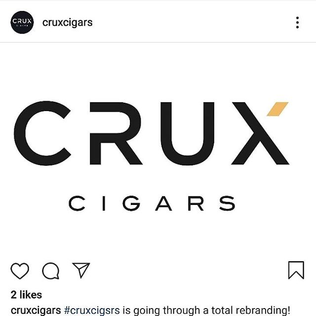 Confirmed... @cruxcigars