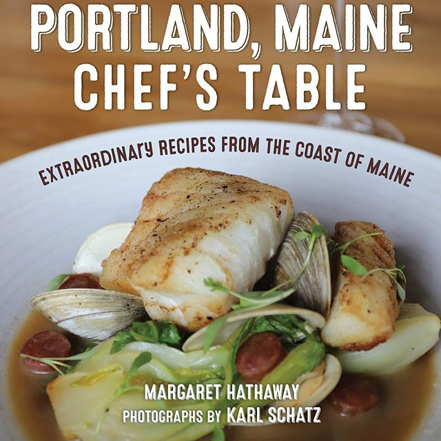 8 years ago I was tending bar at @fivefifty_five when the first @portland_me_chefs_table came out. It was such an awesome representation of the Diverse Culinary Scene that Portland had emerging.  Honored and proud of my staff for our inclusion in this book! Thank you to @tenapplefarm for the write up & photos! #honored #chefsbook #portland #portlandfood #portlandmaine #portlandmainefood #eatmaine #cookbook #portlandmainechefstable  #noblebarbecue #proper 📸: @tenapplefarm