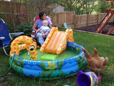 Alex and her son Grant in Flemington, NJ.