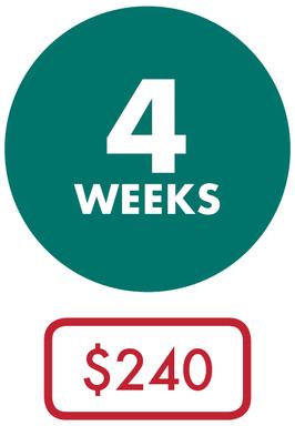 Coop - 4 Weeks