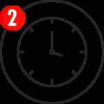 24時間運転により持続的に誘引   ダイナトラップは徐々に効果が出始め、蚊のライフサイクルを断つことで、およそ6~8週間で周辺の蚊を激減させます。