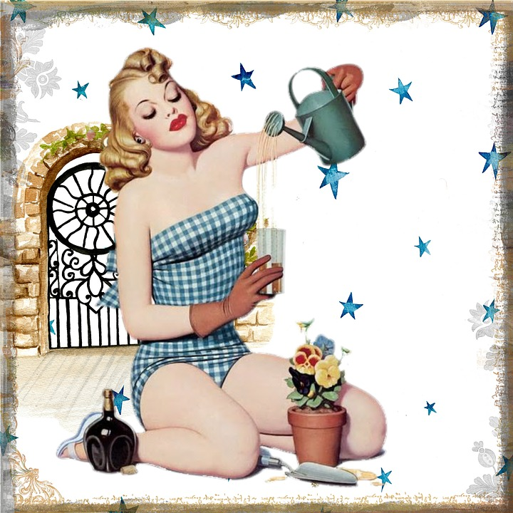 pin up girl in garden.jpg