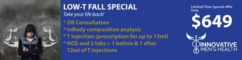 Limited Time Special Offer from Innovative Men's Health