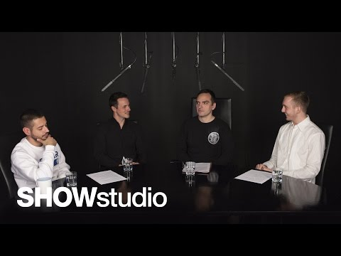 SHOWstudio Panel Discussion on Liam Hodges
