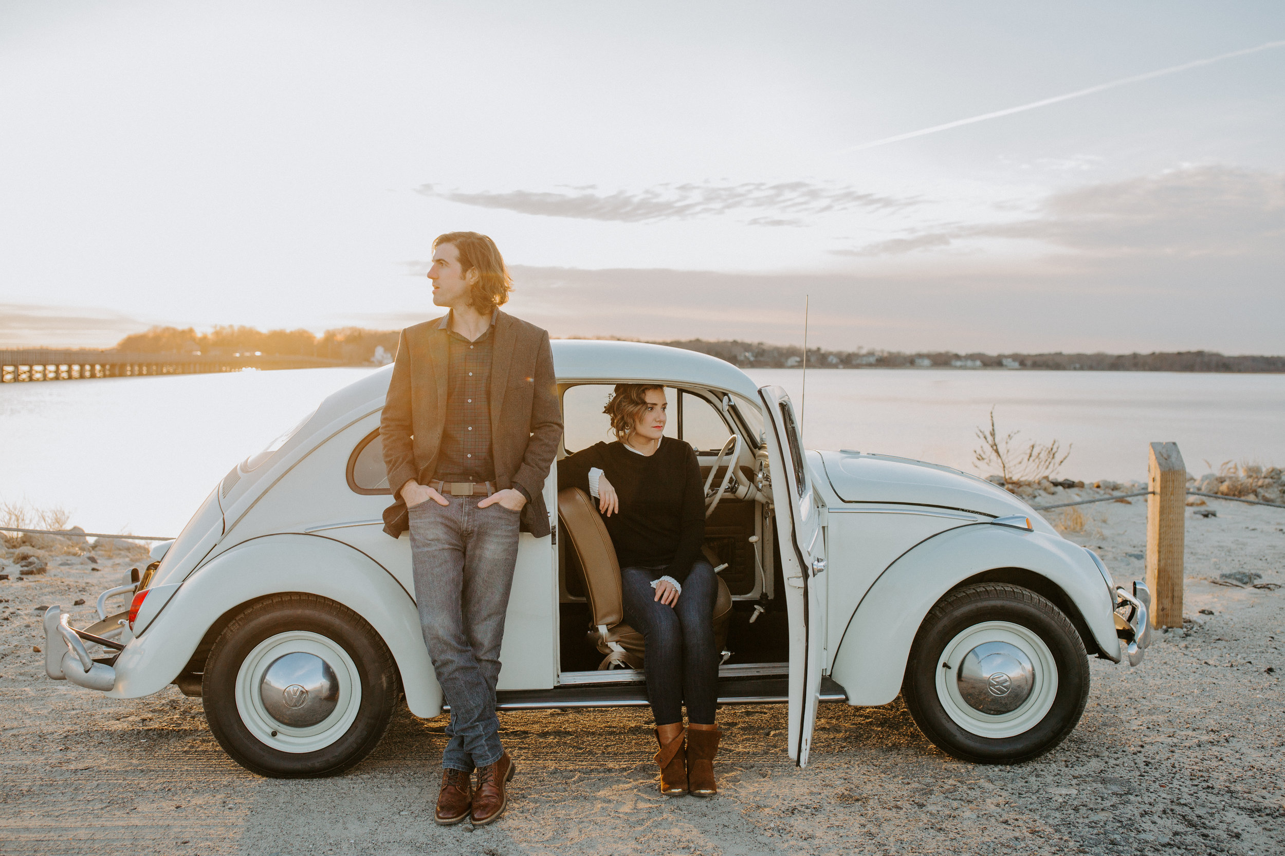 """""""It was an absolute joy to work with Sarah, she had us instantly comfortable and completely captured us...just being us. Our photos came out so beautiful and the return time for them was so speedy! I would 100% pick Sarah for all of our future photography needs!""""  -Kayla and Nick, December 2018"""