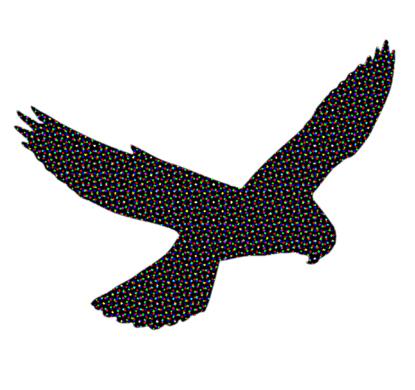 Talk to the hawk! -