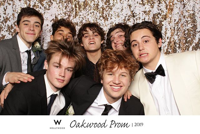 Okay @oakwoodstories gentlemen! You showed up sharp for prom! You win for Best Dressed! @whotels in Hollywood (post by the other @ohsnaptastic @monicalindaphotography )