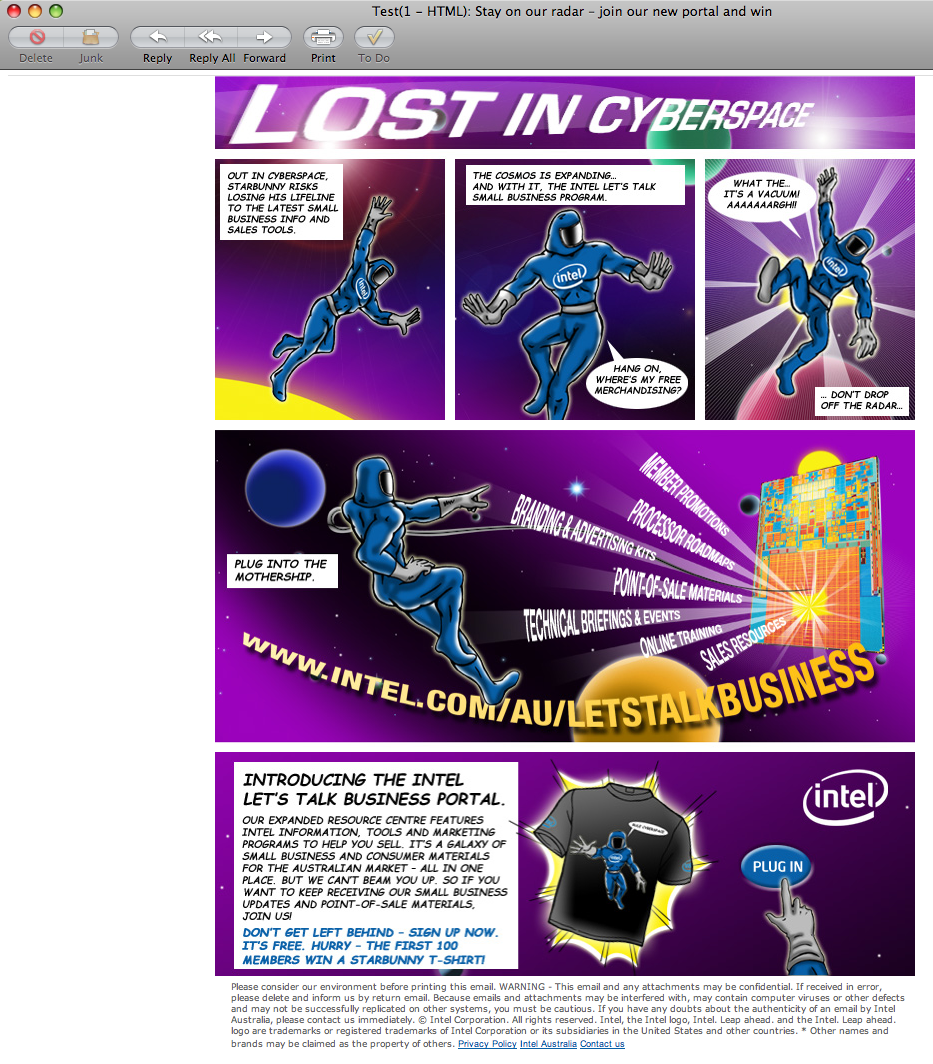 Intel reseller campaign