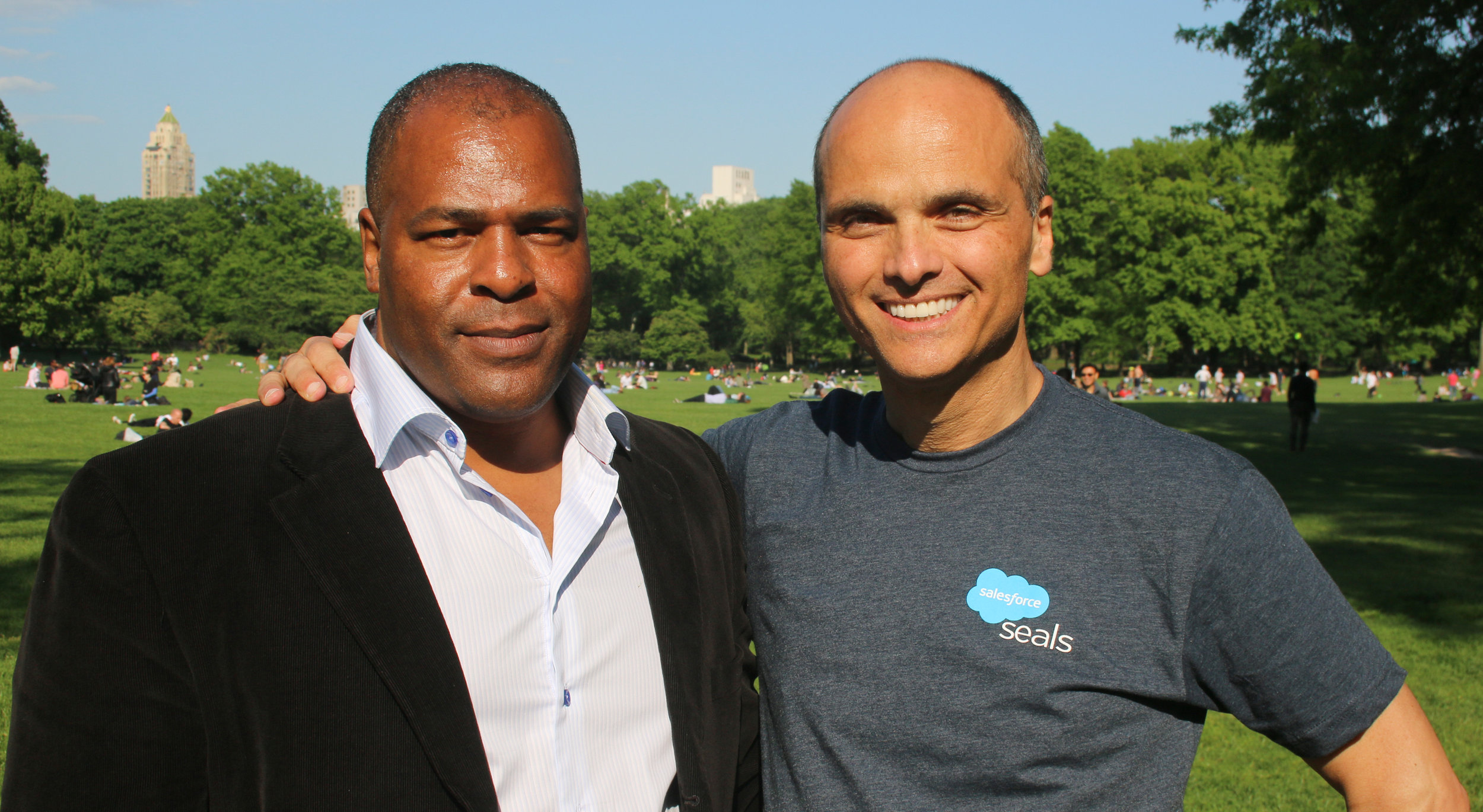 Former U.S. Navy SEAL & Orion Advisor Rob Roy with Orion Founder, Yacov Wrocherinsky