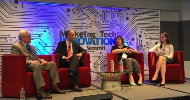 Orion speaking at Marketing & Tech Innovation Summit