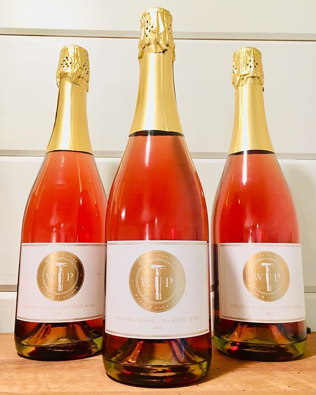 """People work a lifetime to get to the Beard House"" - Micheal Sparks, The Underground Kitchen . We're so honored that Micheal and his culinary team selected our 2016 Sparkling Rose #wine to be served at the James Beard Foundation's Beard House.  #undergroundkitchen #jamesbeard #vawine #drinklocal #whiteplainsfarm . https://richmondmagazine.com/restaurants-in-richmond/food-news/a-cultural-collaboration/"
