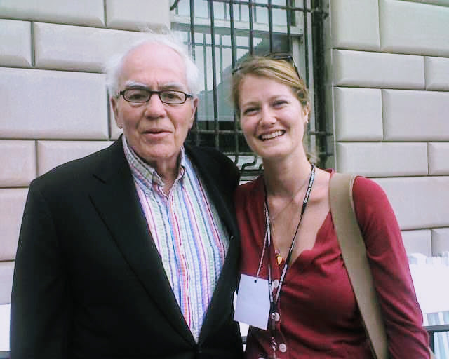One time I met the legendary Jimmy Breslin. He was as much of a delightful curmudgeon as you'd hope he would be.