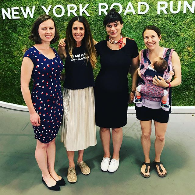 Redefining and supporting women's running and women's health - babies and moms included. ⁣ ⁣ Getting excited for the Mini 10k. Good luck to everyone racing on Saturday! ⁣ ⁣ #livefearlessly #racefearlessly #nyrr #nyrrmini10k