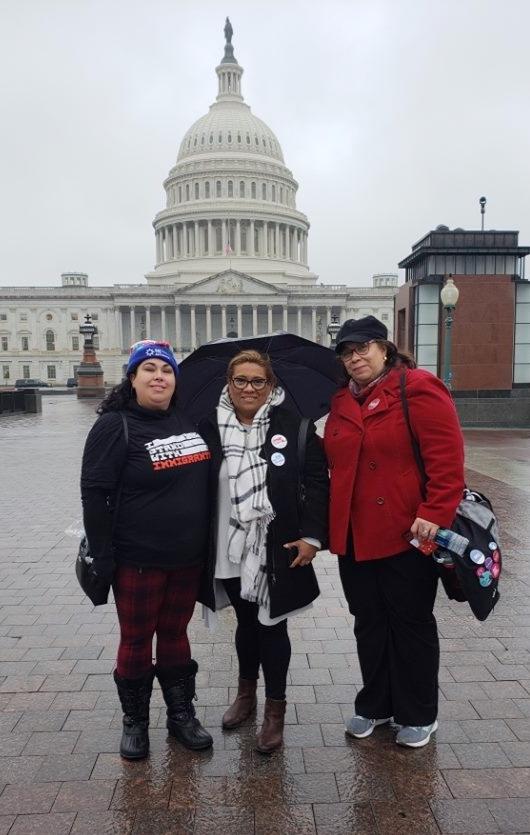 Kenai Leon, Irma Flores, & Zayda Ortiz