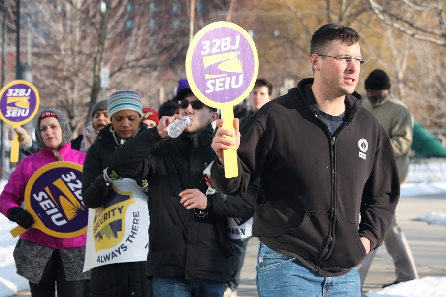 SEUI 32BJ asking EF for better wages February 21, 2019