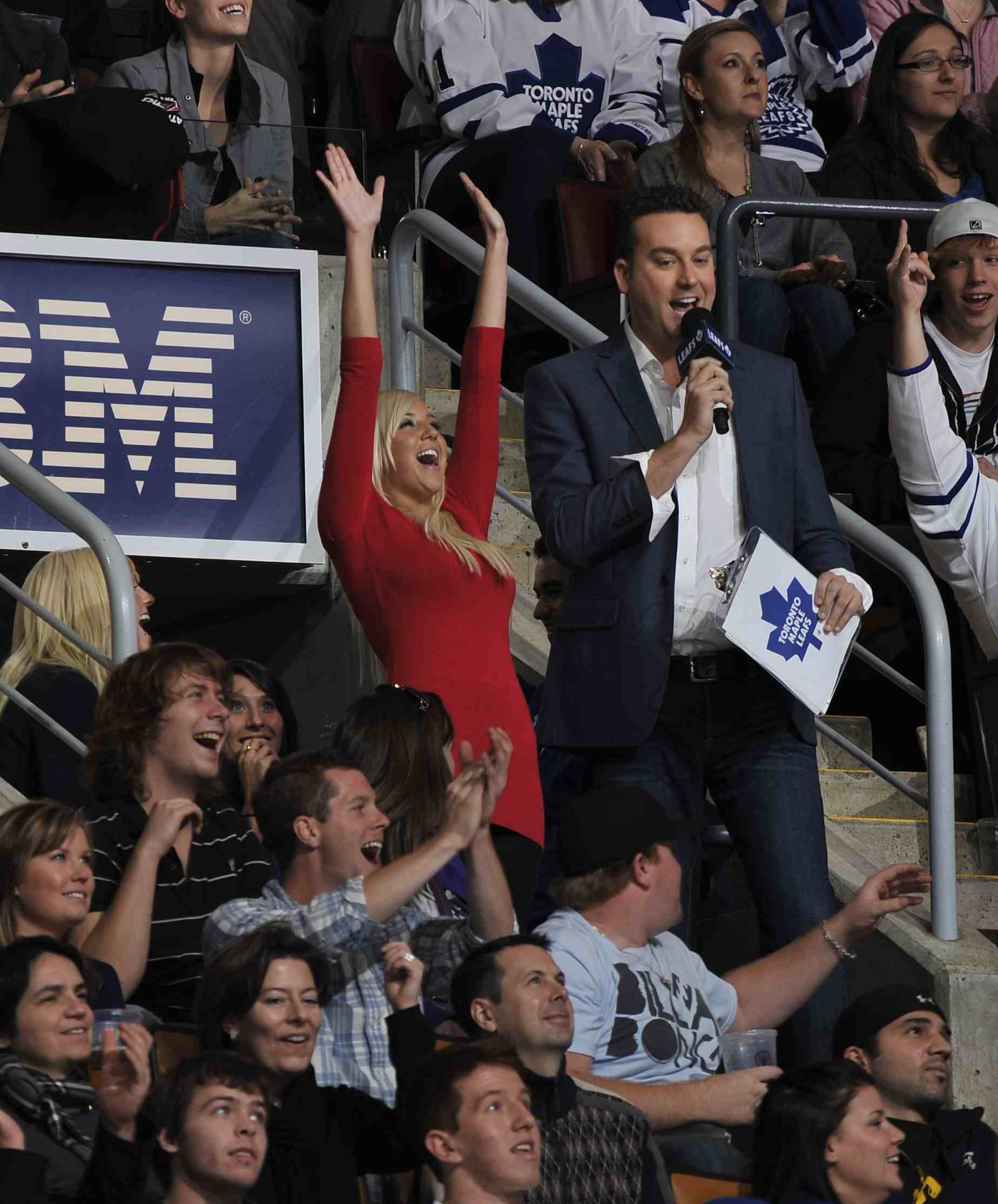 Toronto Maple Leafs In-Game Host