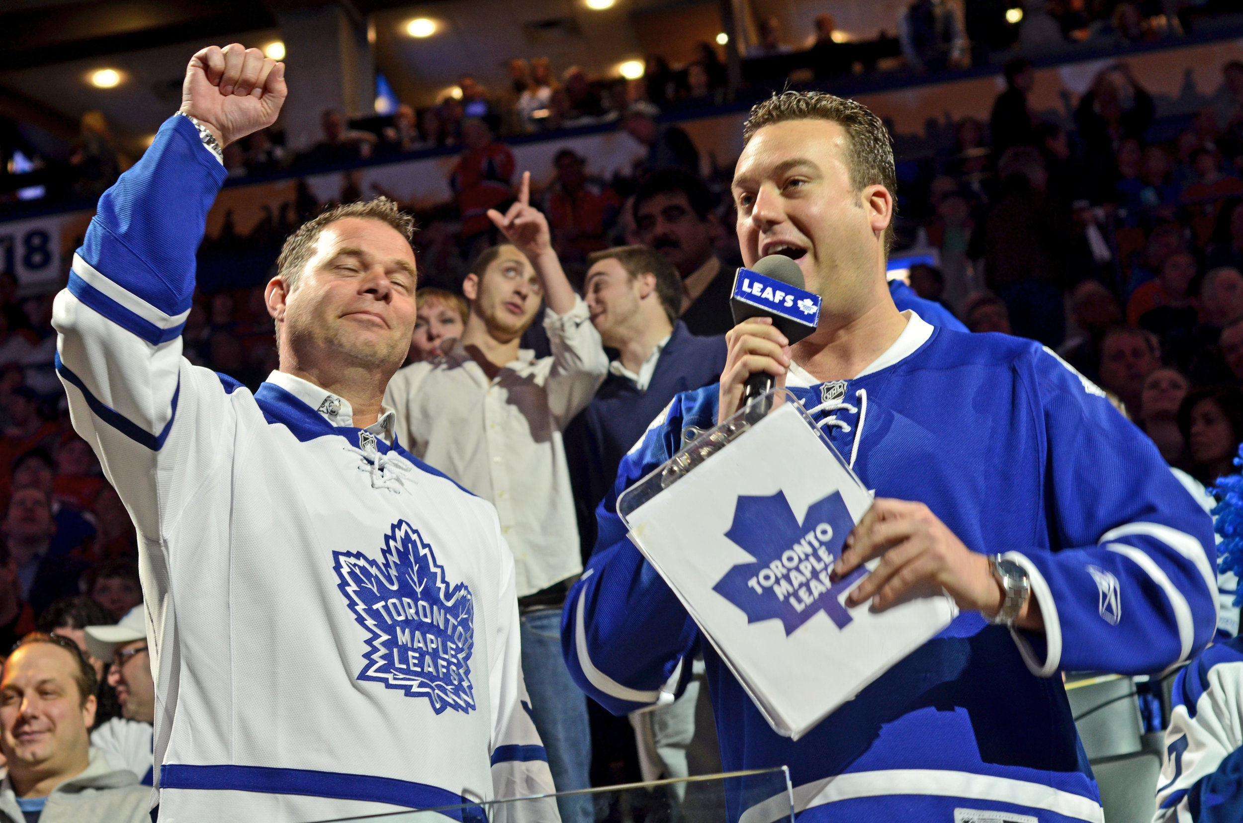 In-Game Host - Toronto Maple Leafs