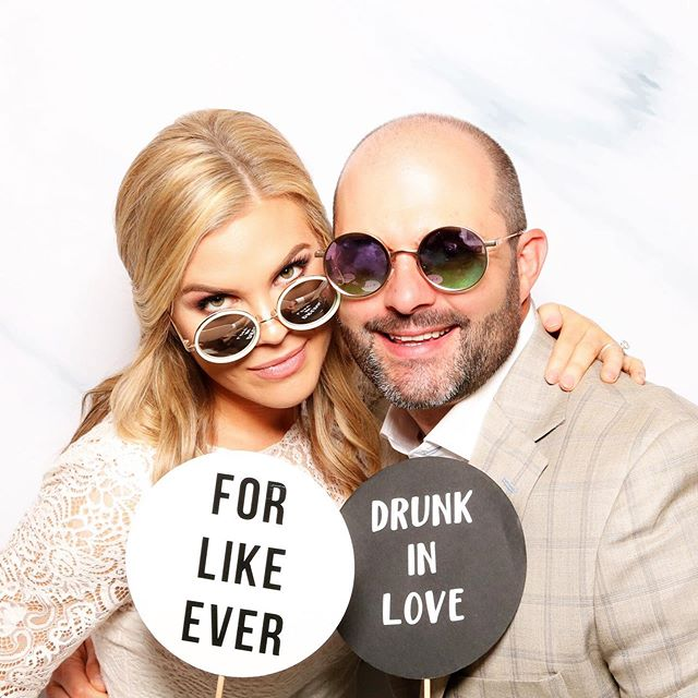 Can't let #nationalsunglassesday go by without featuring the stunning Mr. & Mrs. Gibson #favoriteprop #ourpropsrock ⁠⠀ .⁠⠀ .⁠⠀ .⁠⠀ .⁠⠀ .⁠⠀ #thephotocabana #photooftheday #sunglasses #dallasbride #dallasgroom #mrandmrs #weddingreception #bestdayever #weddingday #forlikeever #drunkinlove #engaged #married #dallas #dallasphotography #dallasweddingphotography #custom #dallasphotobooth #dallasgifbooth #dallasweddingvendor #dallasweddingplanner #dallasevents ⁠⠀