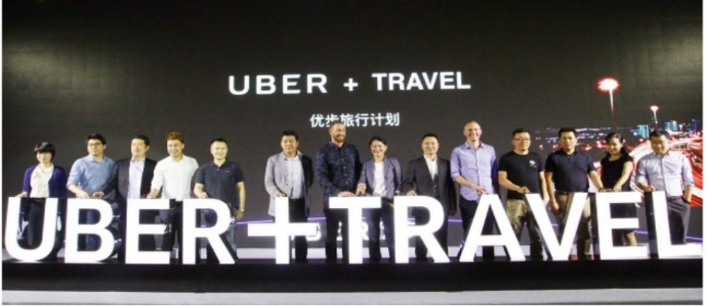 Uber ra thêm tuỳ chọn về du lịch cho khách hàng tại Trung Quốc giữa năm ngoái.