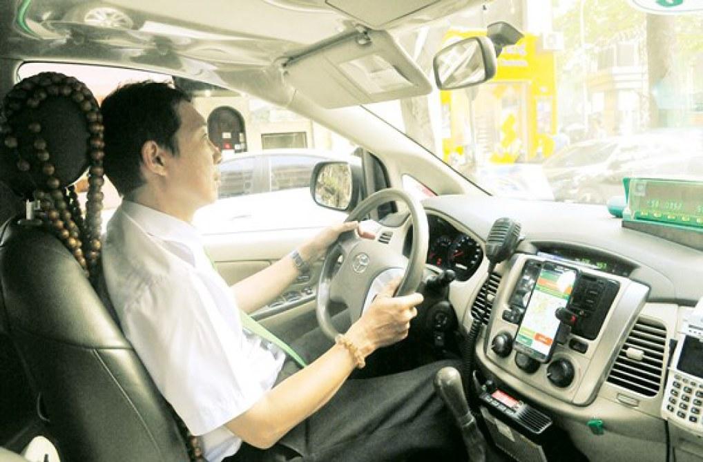 Taxi Mai Linh công nghệ. Ảnh: CAO THĂNG