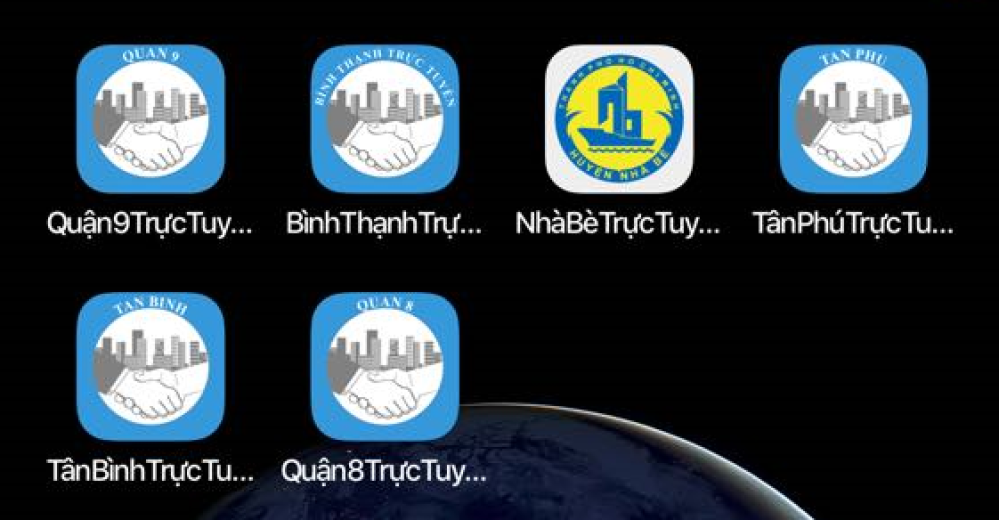 Quận 9 trực tuyến, Bình Thạnh trực tuyến, Nhà Bè trực tuyến, Tân Phú trực tuyến, Tân Bình trực tuyến, Quận 8 trực tuyến