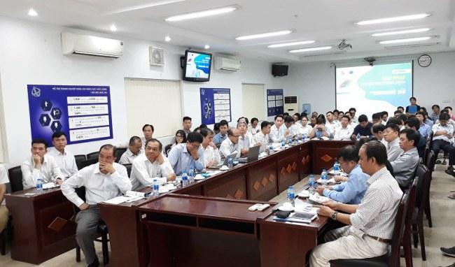 Hội thảo thu hút sự tham gia của nhiều chuyên gia, đại diện doanh nghiệp, quận huyện, trường, viện nghiên cứu