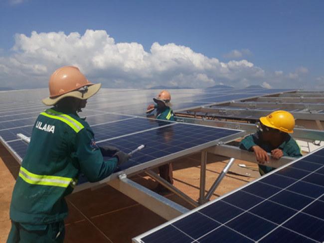 Nhiều dự án điện mặt trời đang khẩn trương thi công, đưa vào hoạt động trong năm 2019