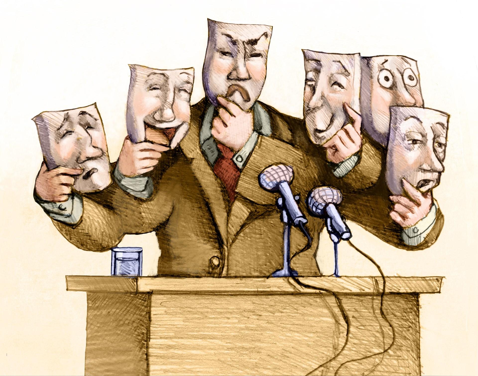 Chính trị ảo -