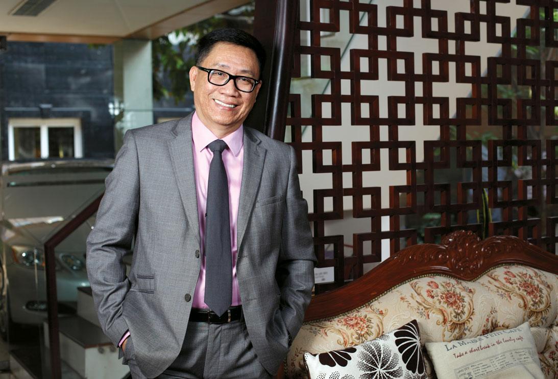Nguyễn Lâm Viên - chủ tịch công ty Vinamit
