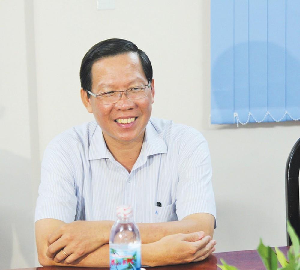 Ông Phan Văn Mãi, phó bí thư thường trực tỉnh uỷ Bến Tre