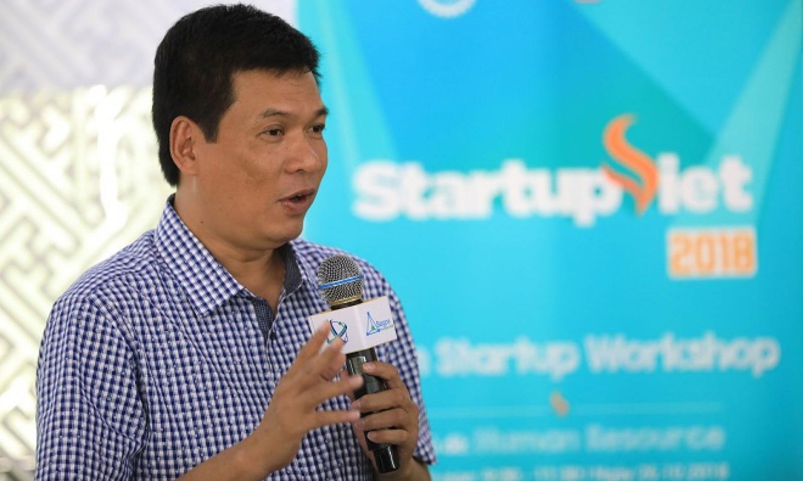 Ông Huỳnh Kim Tước, giám đốc Saigon Innovation hub