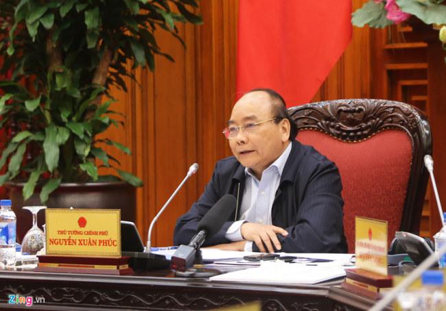 Thủ tướng Nguyễn Xuân Phúc đồng ý đẩy nhanh triển khai trung tâm đổi mới sáng tạo. Ảnh: Hiếu Công.