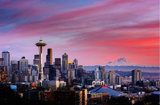 Chế ngự được cơn thịnh nộ của tự nhiên, Seattle sử dụng hiệu quả nguồn nước 'từ trời ban xuống' để tiết kiệm nước và phát triển cho các hạng mục khác của thành phố. Ảnh: Matador Network.