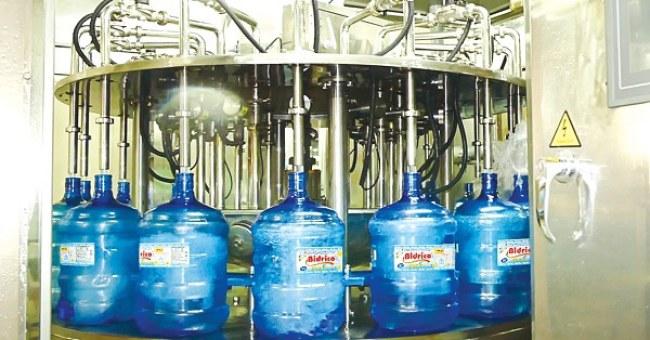 Hệ thống tự động hóa được áp dụng trong hầu hết các khâu sản xuất tại công ty