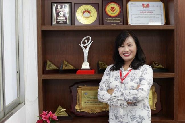 Bà Tăng Thị Thu Lý, Phó Tổng Giám đốc SAMCO, cho biết GTCLQG là minh chứng cho chất lượng đạt tầm khu vực và quốc tế cuẩ doanh nghiệp