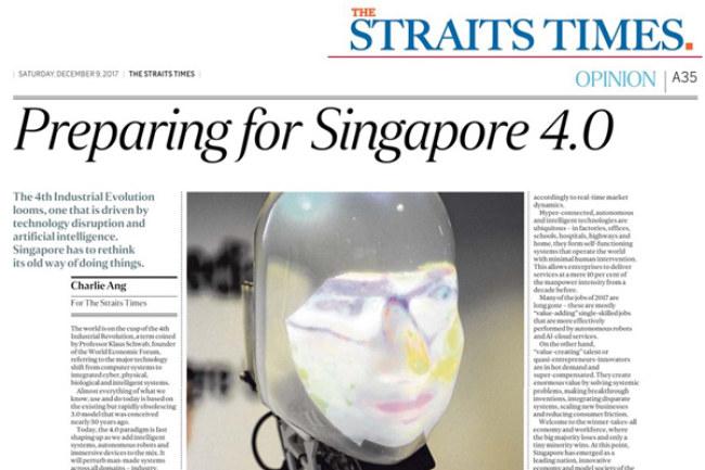 Singapore đã thực hiện nhiều hành động nhằm phát triển nền kinh tế 4.0. Việc làm đầu tiên là cải thiện cơ sở hạ tầng số.