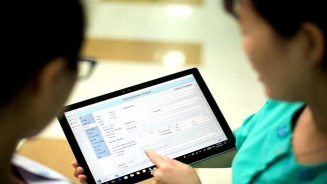 Với bệnh án điện tử, việc điều trị cho người bệnh luôn được công khai, minh bạch