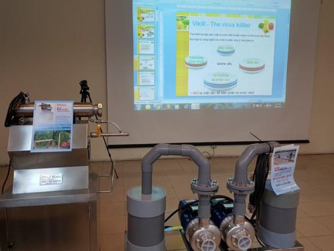 Hệ thống sản xuất nước diệt khuẩn Vikill