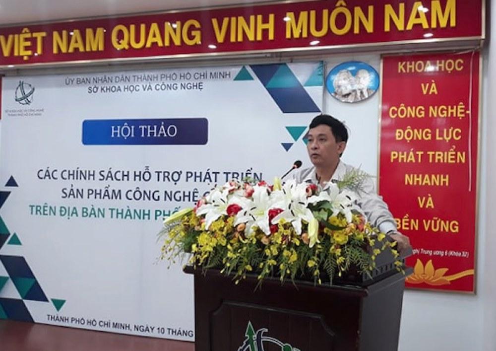 GS.TS Nguyễn Kỳ Phùng phát biểu tại hội thảo