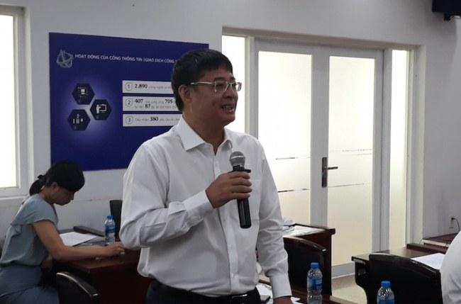 Ông Đào Hà Trung cho biết các doanh nghiệp công nghệ cao hiện này mong muốn cơ hội được cống hiến thay vì trông chờ hỗ trợ của nhà nước