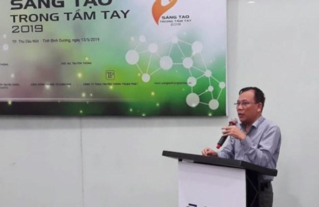Ông Nguyễn Quốc Cường chia sẻ tại lễ phát động cuộc thi