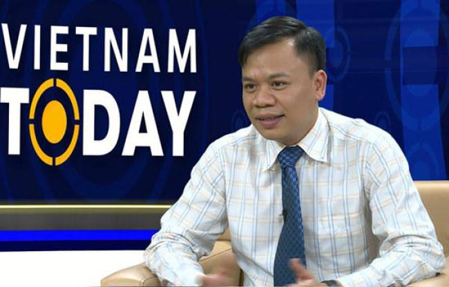 Ông Nguyễn Thế Trung, Tổng giám đốc Công ty cổ phần Công nghệ DTT (Ảnh: XĐ)