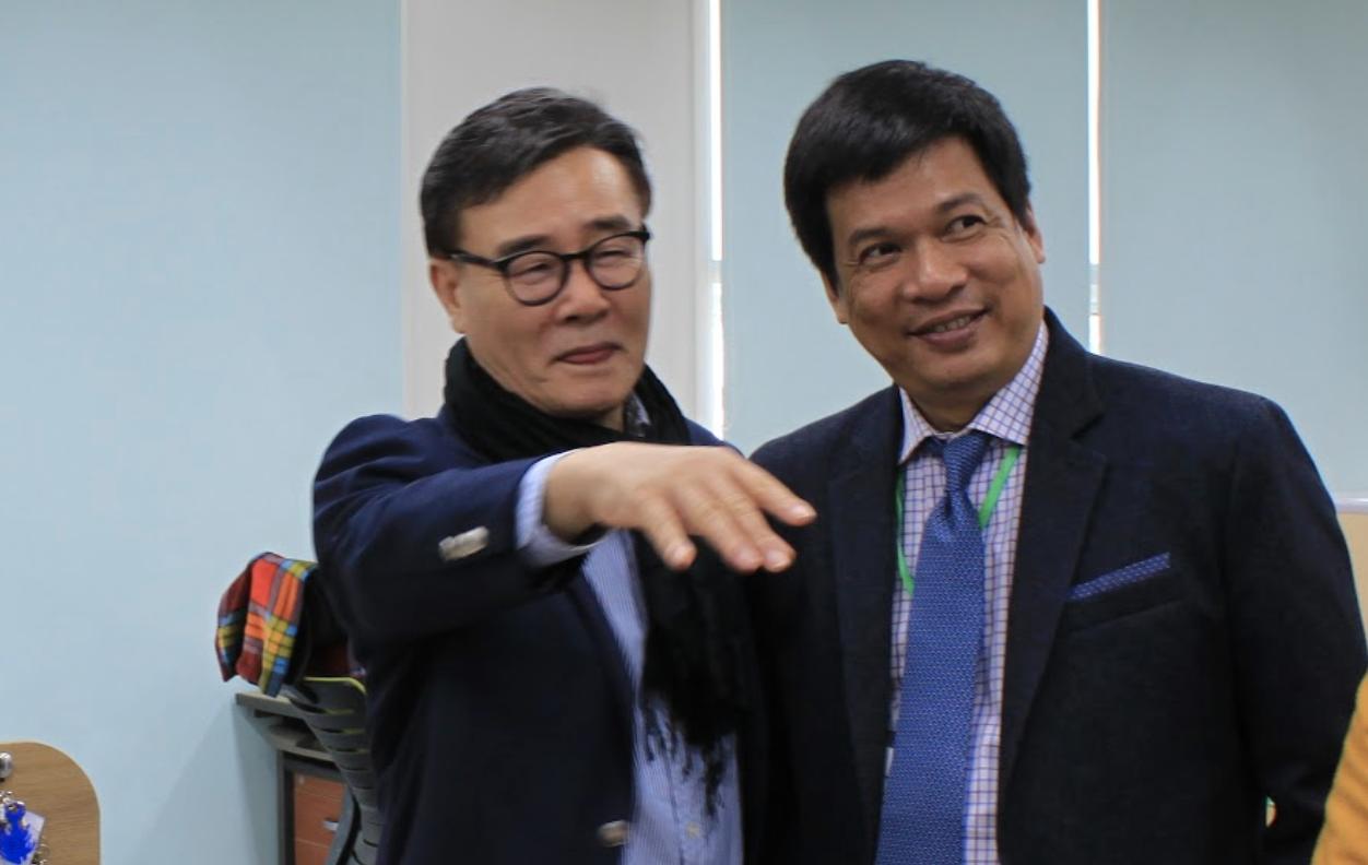 Ông Kim Tae Kon và ông Huỳnh Kim Tước