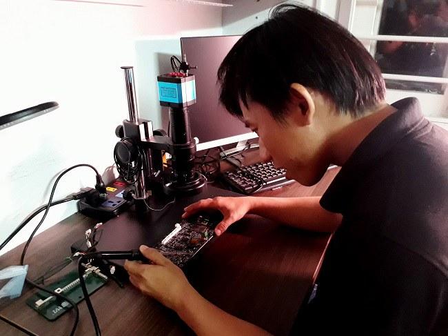 Các hoạt động R&D của dự án sẽ tiếp tục để cho ra các mô hình công nghệ mới. Ảnh: Hà Thế An.