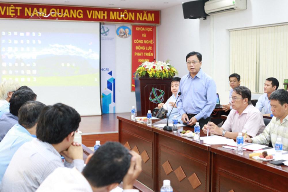 Ông Nguyễn Khắc Thanh, Phó Giám đốc Sở KH&CN TP.HCM, phát biểu tại Hội thảo