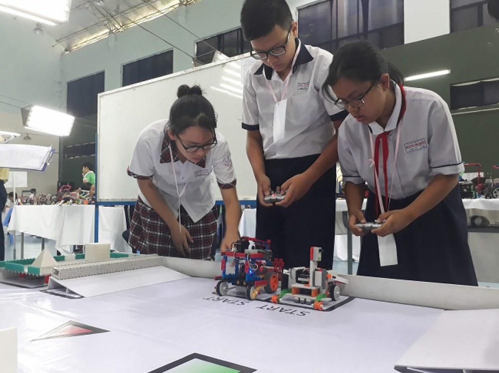 Sở KH&CN TP.HCM sẽ hỗ trợ kinh phí cho các trường THCS và THPT trên địa bàn thành phố có tổ chức các hoạt động sáng tạo. Ảnh: Hà Thế An.