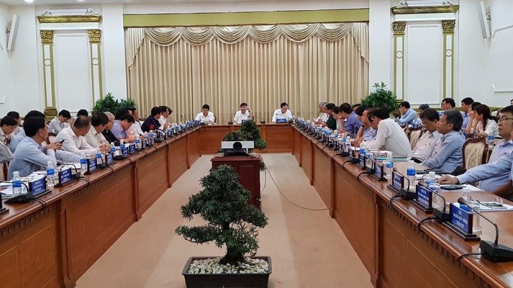Một cuộc họp của UBND thành phố